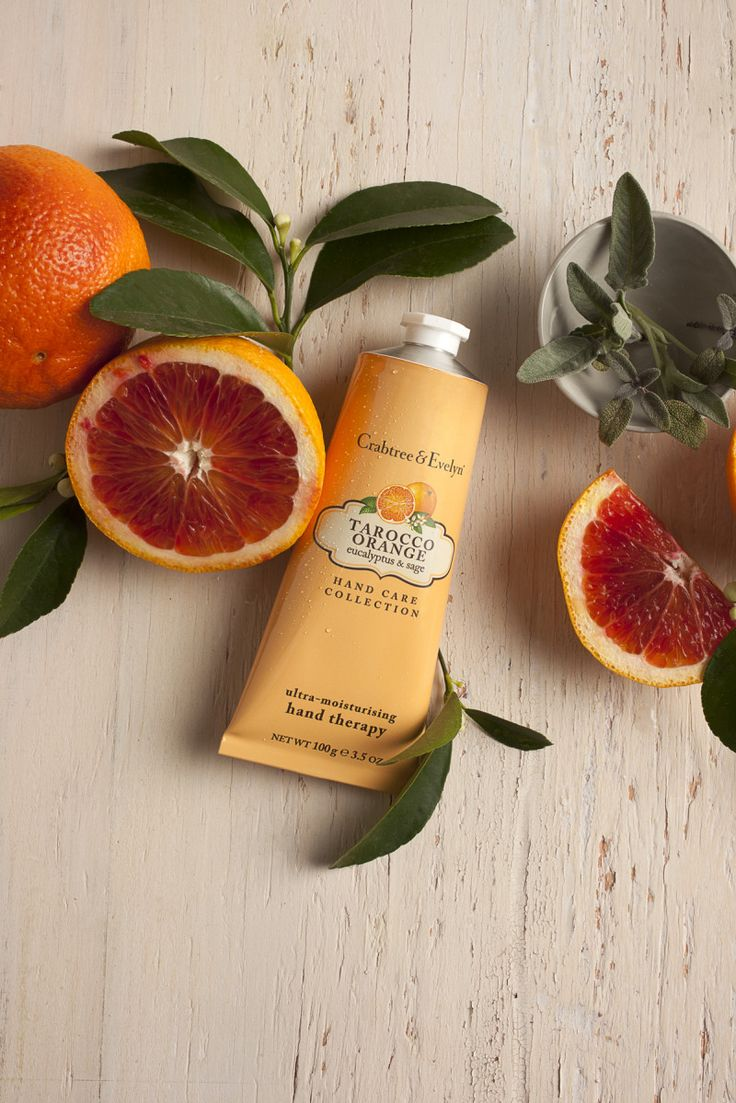 Crabtree & Evelyn Tarocco Orange Collection