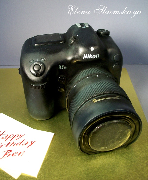 Nikon Camera Cake Images : 1000+ images about Cake decorating ideas: cameras on ...