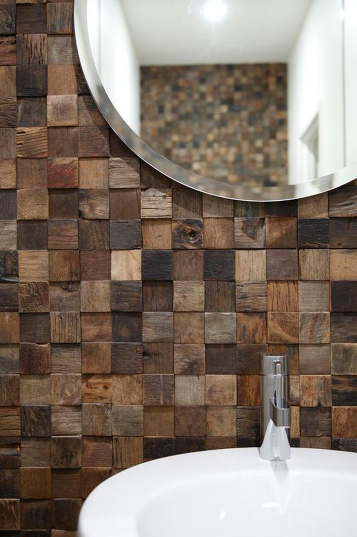 9 stunning timber feature walls you need to see now. Image via Vella Lujo.