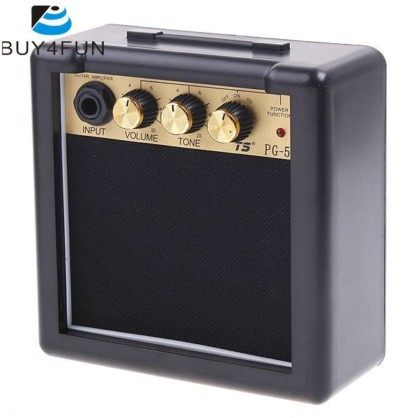 Newest PG-5 5W Electric Guitar Amp Amplifier Speaker Volume Tone Control Electric Guitar Parts & Accessories
