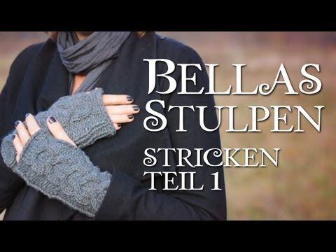 ▶ Twilight Bella's Handschuhe stricken Teil 1 - YouTube