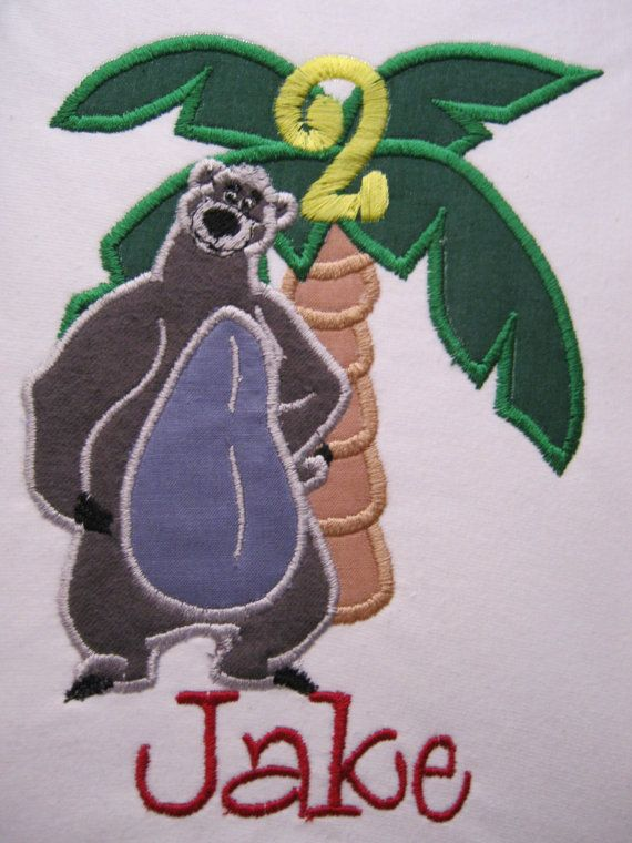 Hey, I found this really awesome Etsy listing at https://www.etsy.com/listing/177186058/baloo-jungle-book-personalized-birthday
