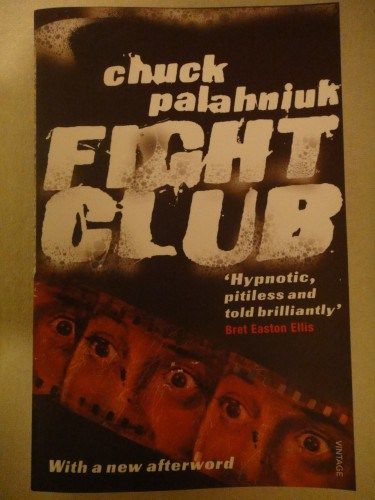 Fight Club by Chuck Palahniuk: Full review linked here: http://imranlorgat.com/2014/11/01/fight-club-by-chuck-palahniuk-book-thoughts/