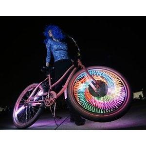 what?!!: Trav'Lin Lights, Bike Lights, Bikes, Wheels Lights, Bike Wheels, Burning Men, Products, Led Bike, Monkey Lights