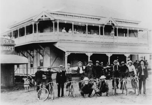Bicycle Race, Boonah, ca. 1910