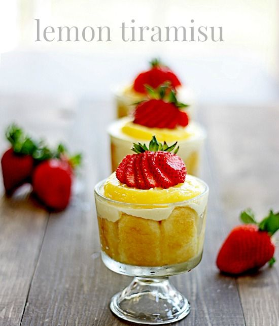 my all-time favorite summer dessert! lemon tiramisu - amazingly good and gorgeous for a get-together!