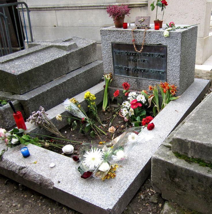 Jim Morrison's Grave, Père Lachaise Cemetery | This image sh… | Flickr