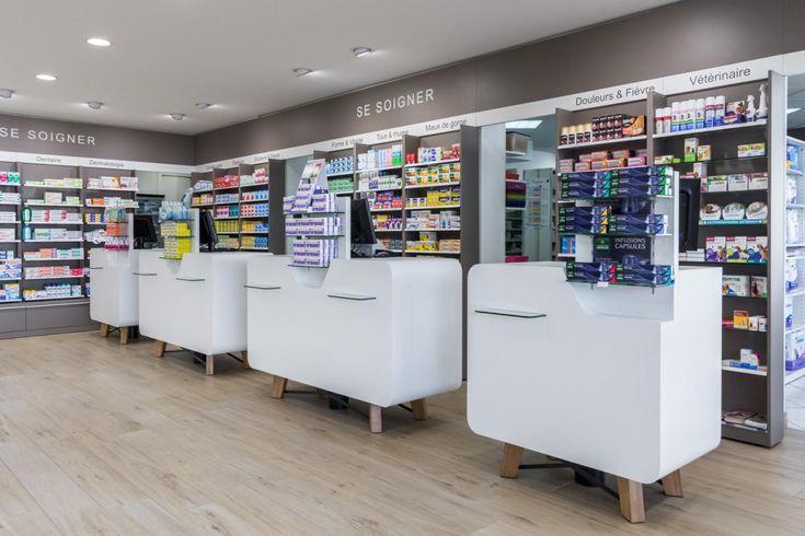 Pharmacie des Feugrais | Cap Agencement