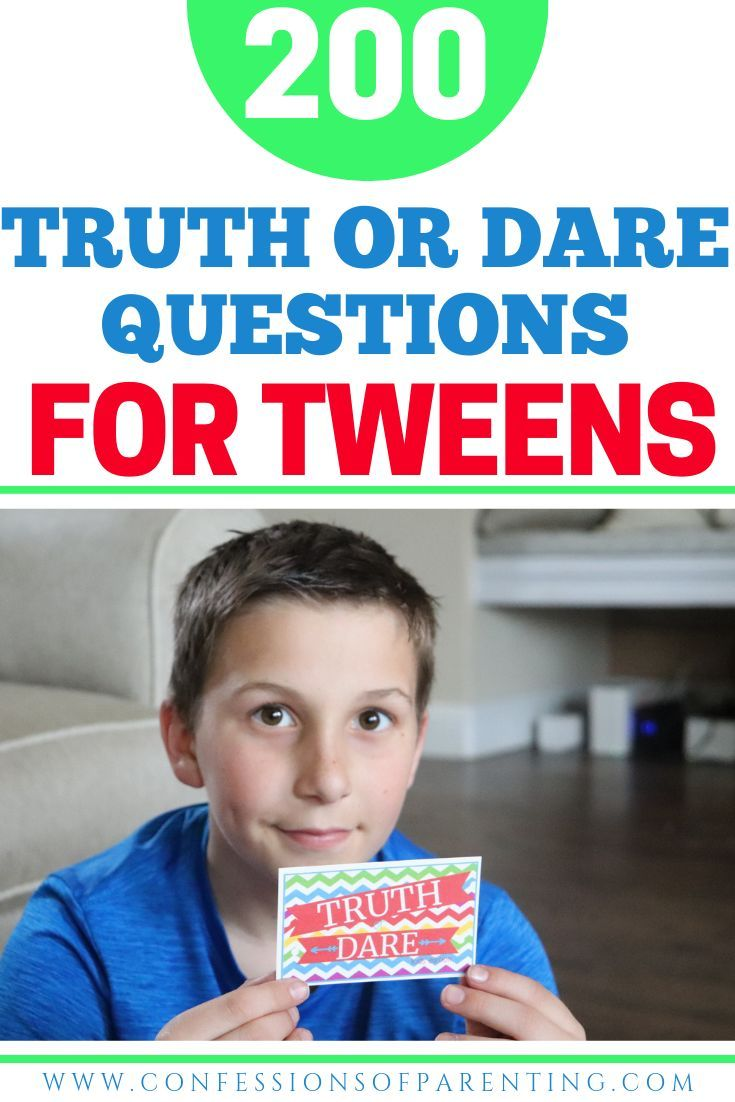 200 Super Awesome Truth Or Dare Questions For Kids Amp Cards Mom Life Truth Or Dare Questions