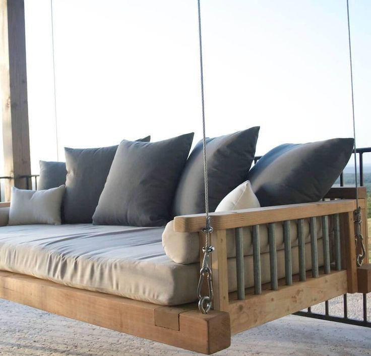 Worner Modern Swing Bed | Industrial Envy, LLC                                                                                                                                                                                 More