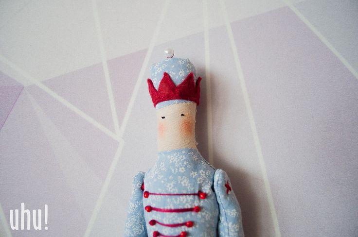 żołnierzyk Edward w uhu! handmade na DaWanda.com