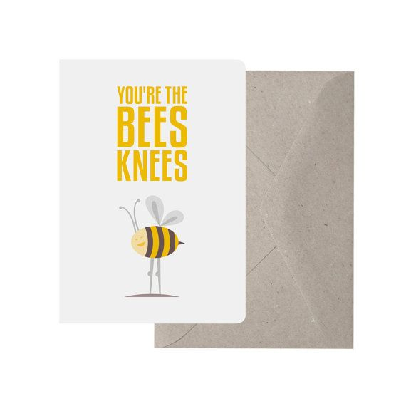 You're The Bee's Knees Valentine Kit – The House That Lars ...  |The Bees Knees Valentine