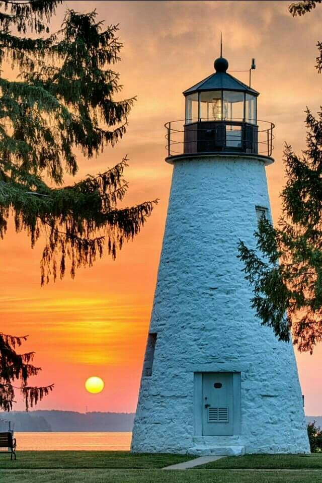 Concord Point Lighthouse. Havre de Grace, Maryland