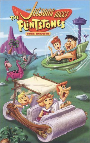Directed by Don Lusk, Ray Patterson.  With George O'Hanlon, Henry Corden, Penny Singleton, Jean Vander Pyl. Elroy Jetson invents a time machine that takes him back to prehistoric times, where he meets the Flintstone family. From #AOTA007 » http://www.alloftheabove.audio/episodes/007