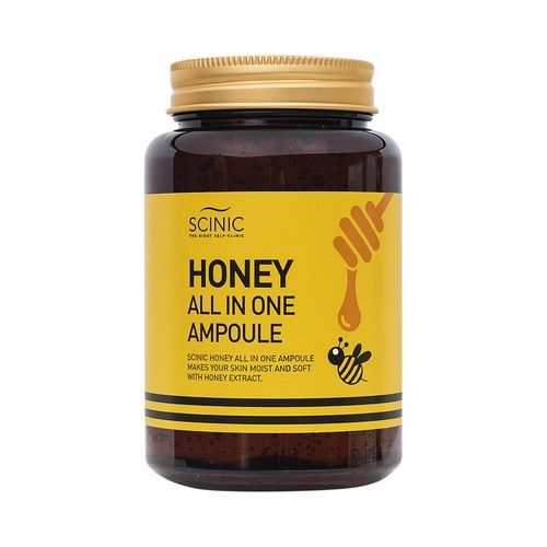 Scinic Honey All In One Ampoule...  For lazy days I just slap this one after cleansing and then moisturizer... Good stuff