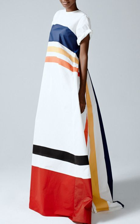 Movie Cars Dress by Rosie Assoulin for Preorder on Moda Operandi