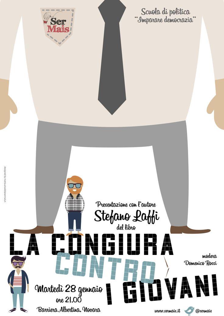 """Presentazione del libro """"La congiura contro i giovani"""" (Feltrinelli, 2014) di Stefano Laffi"""