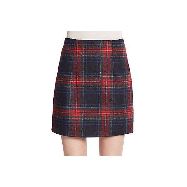 Red plaid long tartan skirt red tartan skirt red skirt tartan