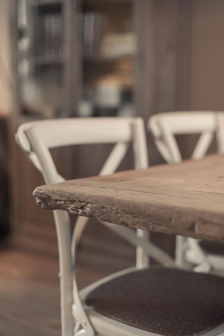 oud houten tafelblad | www.twoonhuis.nl