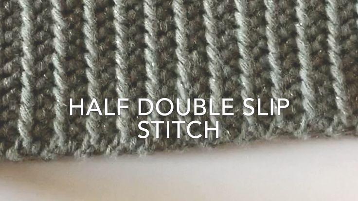 Half Double Slip Stitch | Daisy Farm Crafts