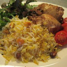 Tahdig,persialainen riisi