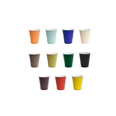 Kaffekopper i forskellige farver. Kan også fås i Inspiration