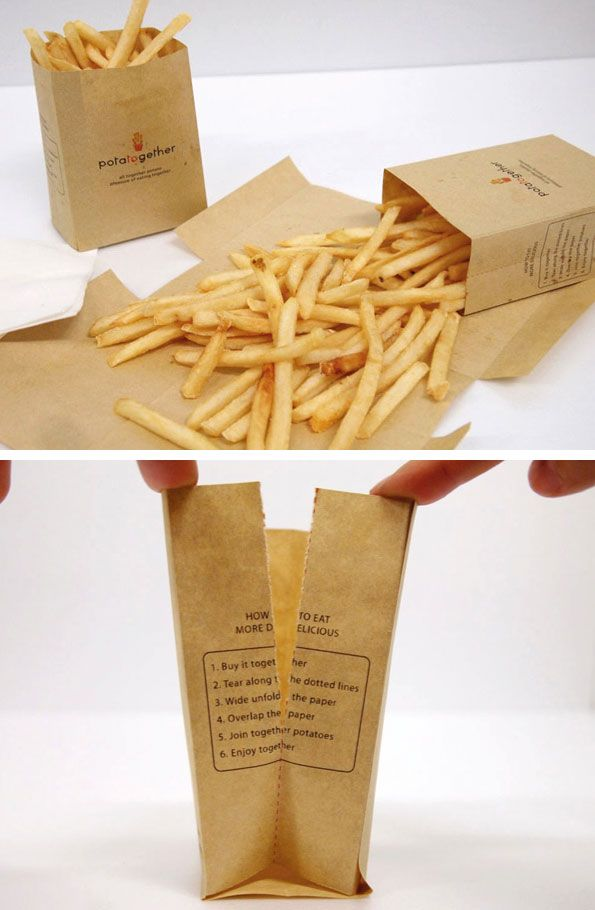 French Fries - packaging design