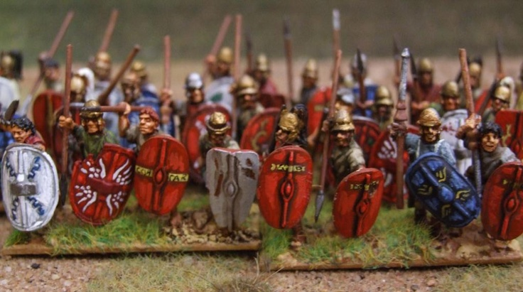 Spartacus' troops from   http://swampster-danteswars.blogspot.ca/