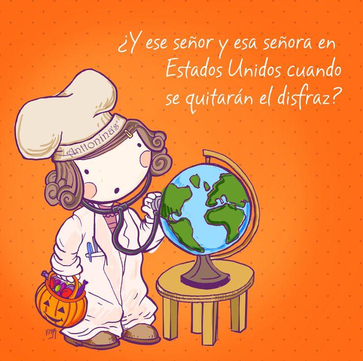 Y ya finalizando #halloween llega #UnaPizcadeAnttonina
