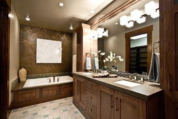 23 best craftsman bathroom images on pinterest log for Bath remodel salt lake city