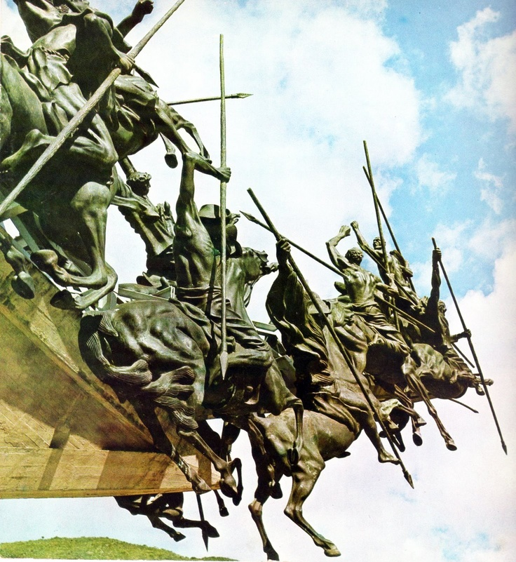 Colombia - El Pantano de Vargas, Monumento a los lanceros, 15 de julio de 1819, Boyaca.