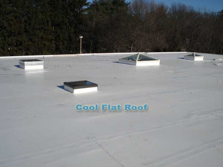 PVC Roofing Membrane: Cool, White, Energy Efficient And Energy Star Rated,  Eco