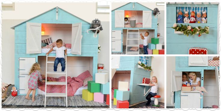 Another amazing Dutch bed and play space for the little ones!