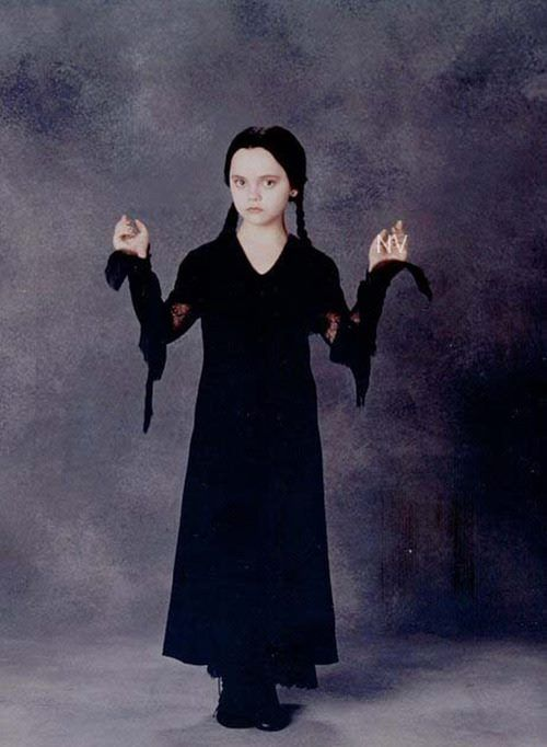 "Christina Ricci as Wednesday Addams in ""The Addams Family"" (1991)"