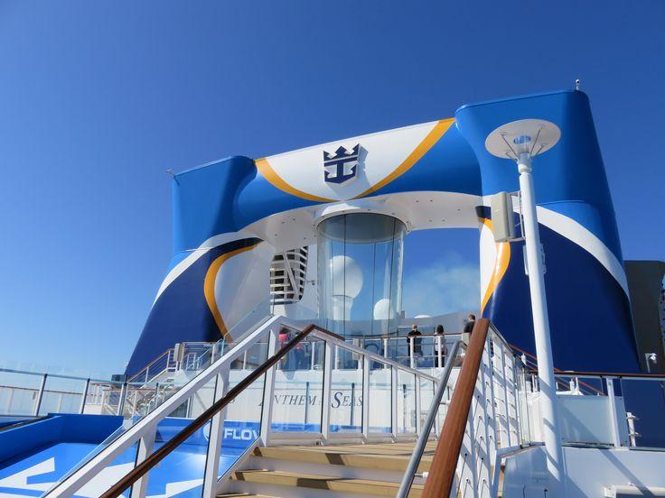Royal Caribbean International - Naming of Athem of the Seas - FlowRider