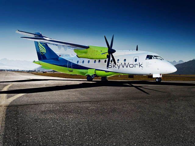 SkyWork clouée au sol, Adria Airways la remplace à Berne