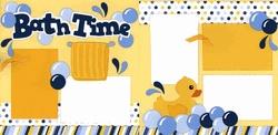 Bath Time Page Kit: Scrapbook Ideas, Layout Ideas, Bath Time Layout, Scrapbook Baby Kids, Scrapbook Layout, Baby Scrapbook, Scrapbook Baby Bath Layout, Limb Scrapbook, Layout Scrapbook Bathtim