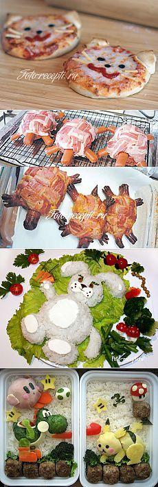 Детское праздничное меню. Что приготовить на День Рождения ребенку - Рецепты с…
