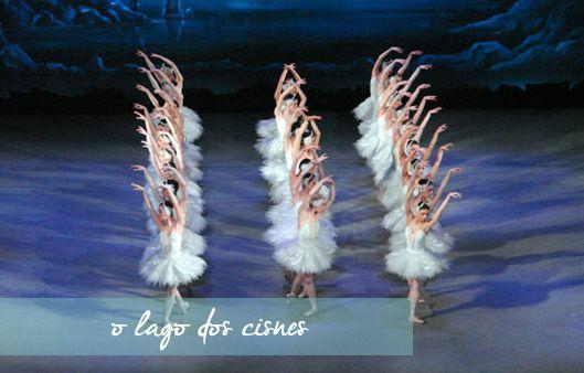 Mundo Bailarinístico - Blog de ballet: Ballet de Repertório - O Lago dos Cisnes