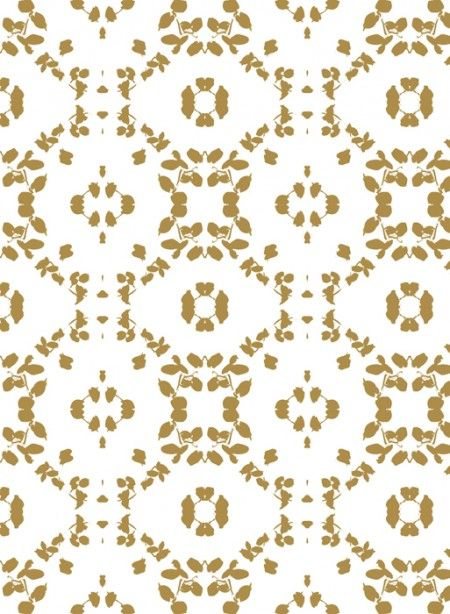 http://www.thecollection.fr wallpaper gold leaf