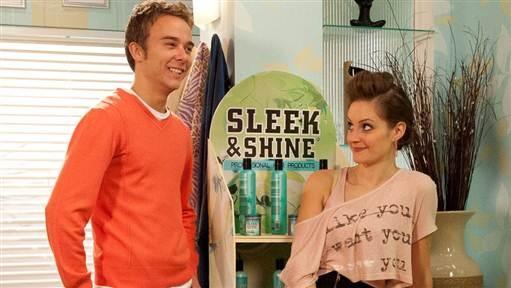 Coronation Street David and Kylie 2/2013