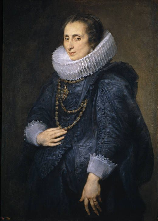 Author Dyck, Anton van (Flemish), Title Unknown Lady Chronology Ca, 1628 Museo Nacional del Prado: On-line gallery