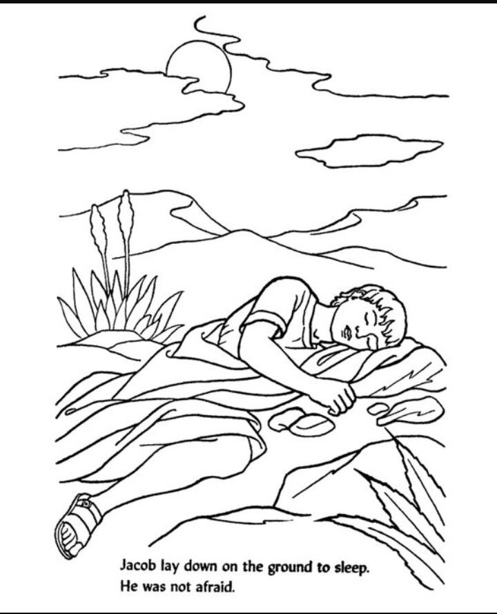 Free coloring pages of jacobs ladder ~ 34 best Jacob's ladder images on Pinterest   Sunday school ...