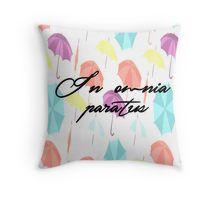 gilmore girls-in omnia paratus Throw Pillow