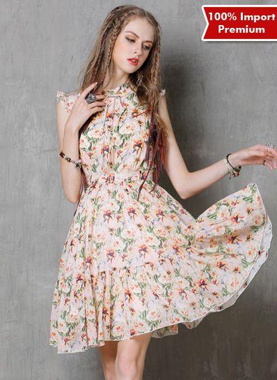 Dress Import Premium 602PR  | shopasista.com | Distributor baju import | distributor baju korea | grosir baju korea | grosir baju import | supplier baju korea tangan pertama | importir baju korea