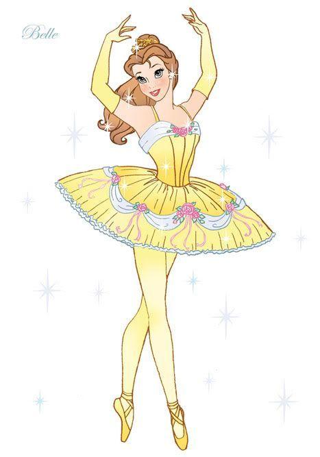 Disney Princess Ballerina Clip Art   Disney Princess Ballerina Clip Art   Disney Princesses - Work of Toy ...