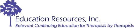 BlogEducation Resources Continuing Education for Occupational Therapy, Physical Therapy, Speech Therapy – Education Resources, Inc. | Education Resources