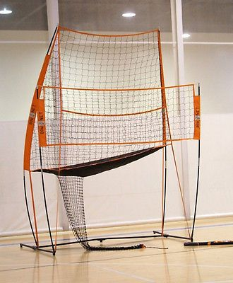 Bownet Volleyball Practice Station BOW-VB-PRACTICE-NET Portable Net NEW
