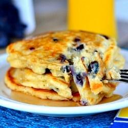 Blueberry Buttermilk Pancakes | Breakfast Foods | Pinterest
