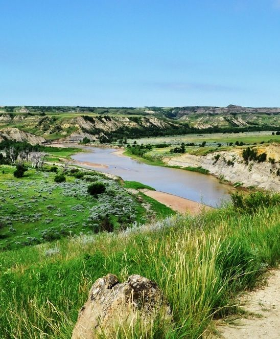 Theodore Roosevelt National Park is in North Dakota